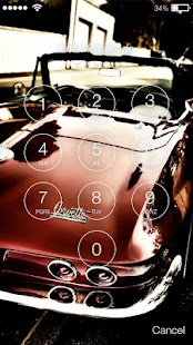 Muscle Car Screen Lock - náhled
