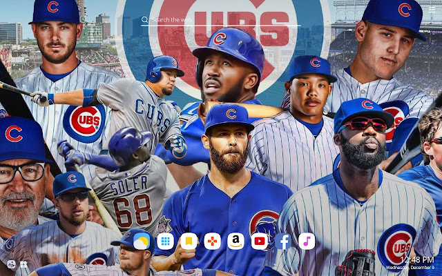 Chicago Cubs Hd Wallpapers New Tab Theme