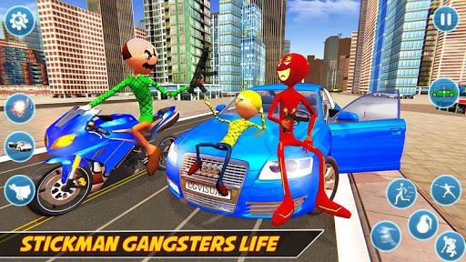 Flash Stickman Rope Hero u2013 Speed Hero Crime City 1.7 screenshots 5
