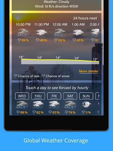 Weather Forecast - Weather Radar & Weather Widget screenshot 10
