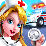 911 Ambulance Doctor Icon