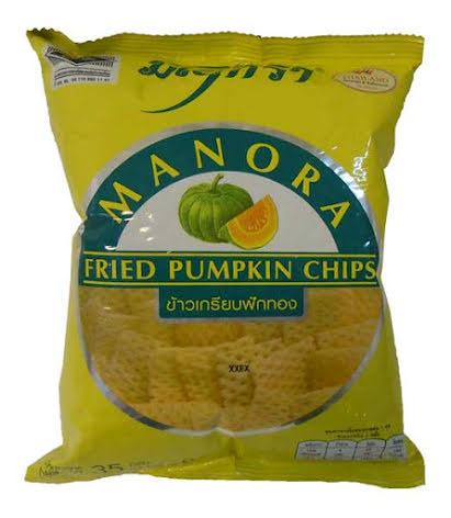 Fried Pumpkin Chips Manora