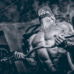 The Beast by Daniel Craig Johnson - Sports & Fitness Fitness ( body, fitness, light, portrait, giant,  )