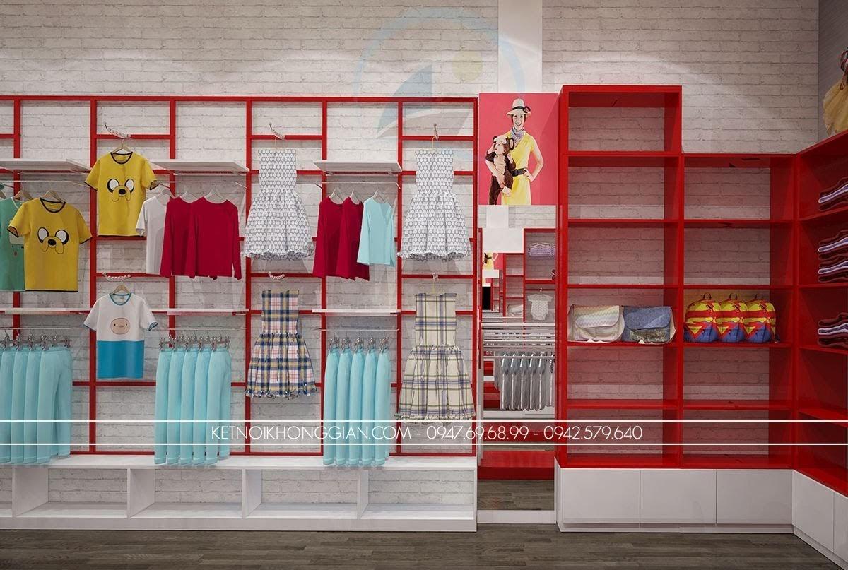 thiết kế shop mẹ và bé chất lượng