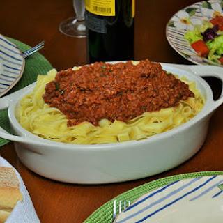 Fettuccine Bolognese Recipe