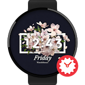 SAKURA watchface by Jake36