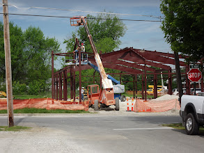 Photo: Check out the construction progress on the library's new leased facility in Ashland.