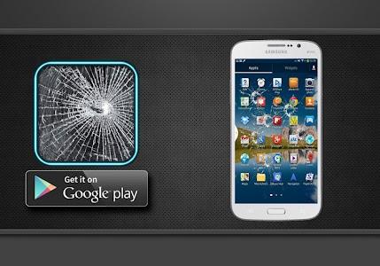 خدعة الشاشة المكسورة - مقلب screenshot 0