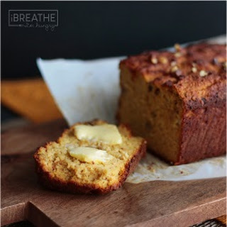 Easy Pumpkin Quick Bread - Low Carb and Gluten Free