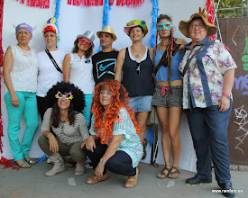 Photo: Elección cartel alternativo fiestas MONZÓN. En el rincón de la foto.