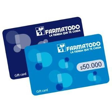 GIFT CARD FARMATODO X   $50.000