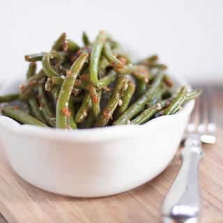 Garlic Ginger Green Beans.