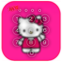 Kawaii Kitty Lock Screen theme icon