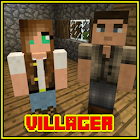 Villager Come Alive Mod for MCPE Addon icon