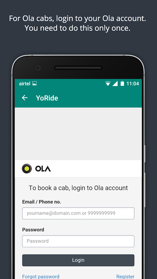 YoRide - Public Transport App- screenshot