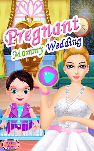 Pregnant Mommy Wedding