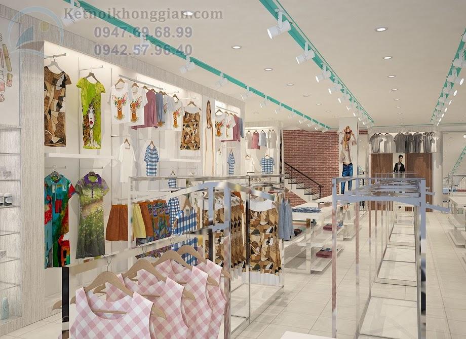 thiết kế shop thời trang nam nữa chất lượng cao