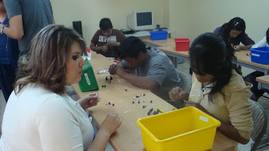 Photo: Creative Jewellery Making Workshop Nov. 2012