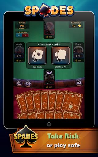 Spades - Offline Free Card Games modavailable screenshots 11