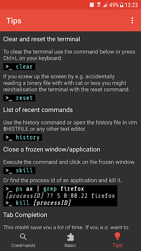Linux Command Library  screenshots 6