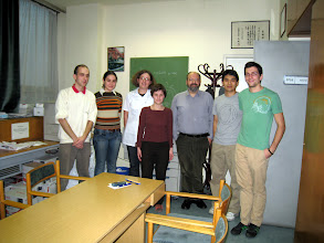 Photo: Dal Hyung and Dave with Professor Laci Kohidai and his students and post doctoral fellows