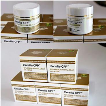 韓國代購韓國出名品牌ELENSILIA CPP法國蜂王漿細胞再生面霜