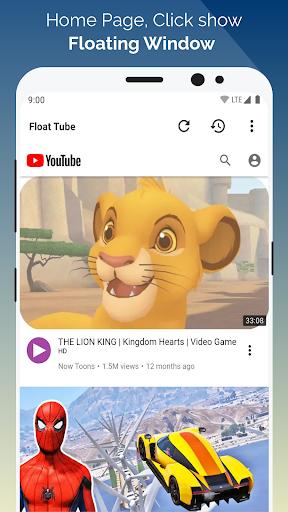 Float Tube-Few Ads, Floating Player, Tube Floating 1.5.18 screenshots 1