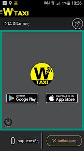 wtaxi Driver - náhled