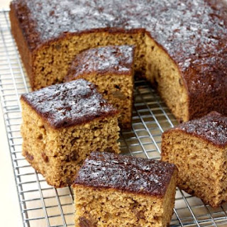 Moist Ginger Loaf Cake.