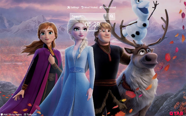 Frozen 2 Wallpapers Frozen 2 New Tab HD