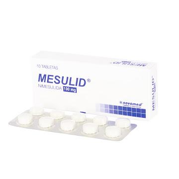 Mesulid 100Mg Tabletas   Caja x10Tab. Novamed Nimesulida