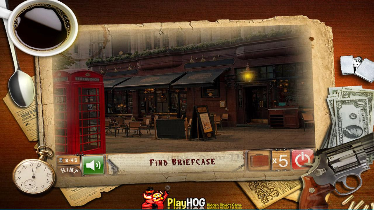 New Free Hidden Objects Games Free New Crime Time- screenshot