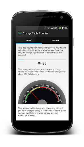 Charge Cycle Battery Stats