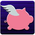 fly piggy icon