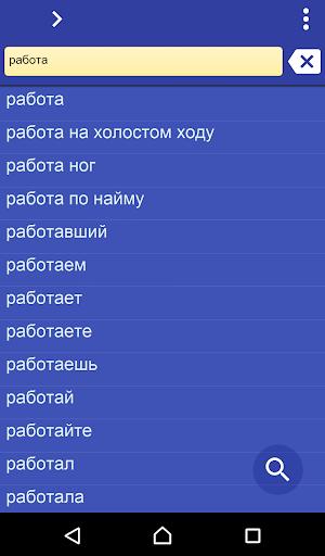 Russian Slovak dictionary