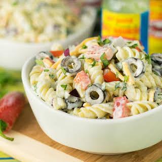 Habanero Ranch Pasta Salad.