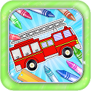 Painting cars - Coloring pages painting cars games APK