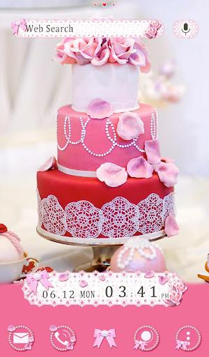 Happy Wallpaper Pink Wedding Cake Theme 1.0.0 Windows u7528 1