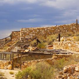 Two  Gun   Arizona by Jo Gonzalez - Buildings & Architecture Decaying & Abandoned ( building, old, western, town, two gun  az, abandon, decaying )