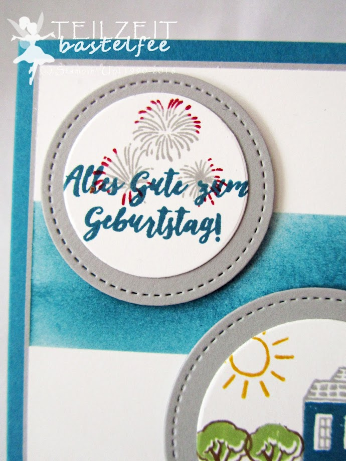 Stampin' Up! - In{k}spire_me #319, Stadt Land Gruß, In the City, Male Birthday Card, Geburtstag Männerkarte