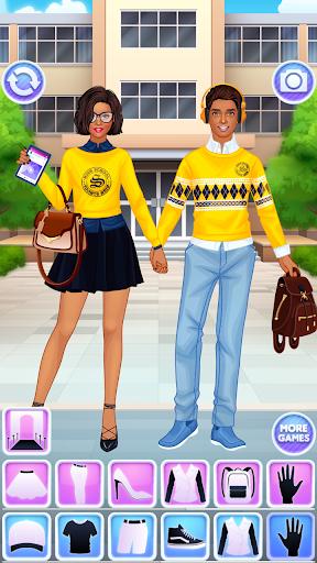 High School Couple: Girl & Boy Makeover 1.6 screenshots 4