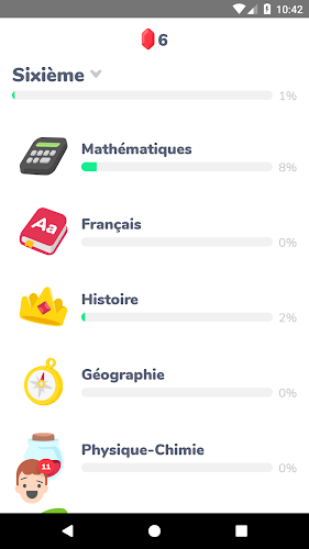 Kartable : Cours, Exos, Bac Android App Screenshot