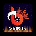 VidBits Music : Mbits Video Stauts Maker icon