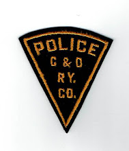 Photo: Chesapeake & Ohio Railway Company Police (Defunct, merged with CSX Transportation)