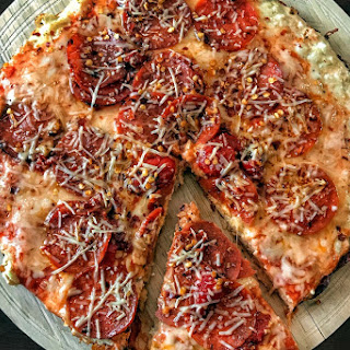 High Protein Stovetop Skillet Pizza Ingredients.