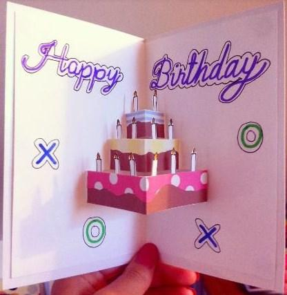 diy greeting card ideas  android apps on google play, Birthday card