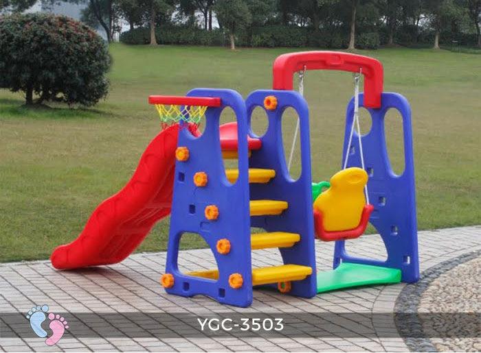 Cầu trượt trẻ em đa năng YGC-3503 10
