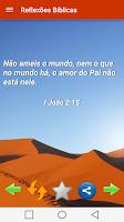 Screenshot of Reflexões Bíblicas Diárias