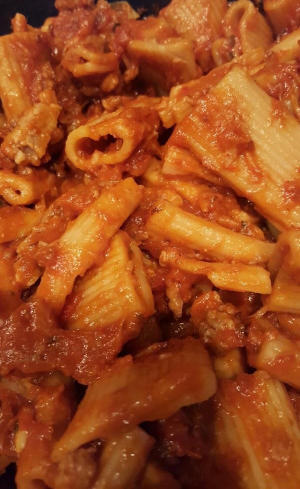 Pressure Cooker Pasta Dinner Recipe