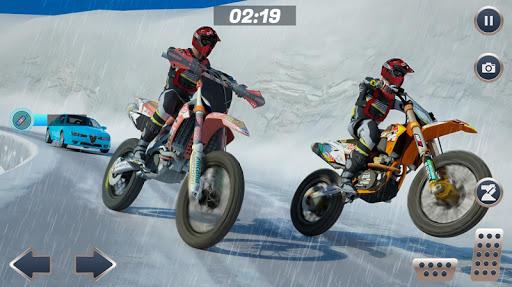 Mountain Bike Snow Moto Racing 2.1 Screenshots 1